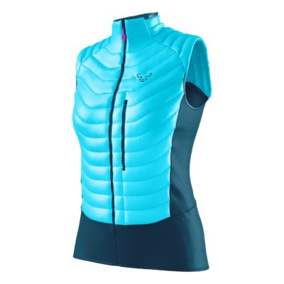 Dynafit TLT Light Insulation Weste Damen Silvretta blue