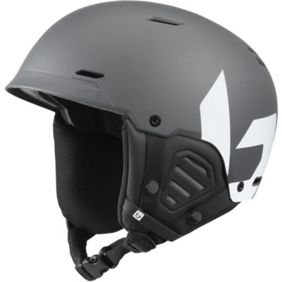 bolle mute grey white skihelm