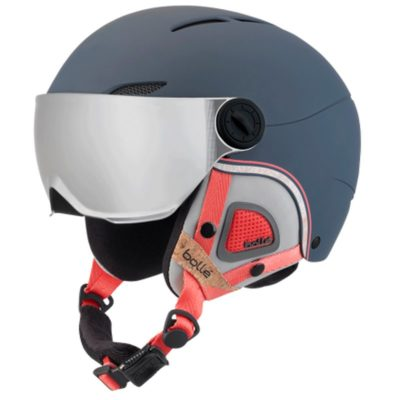 bolle Juliet visor navy rose skihelm